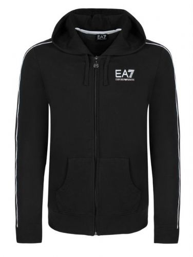 Emporio Armani EA7 Train Core Track Hooded Top Full Zip Black